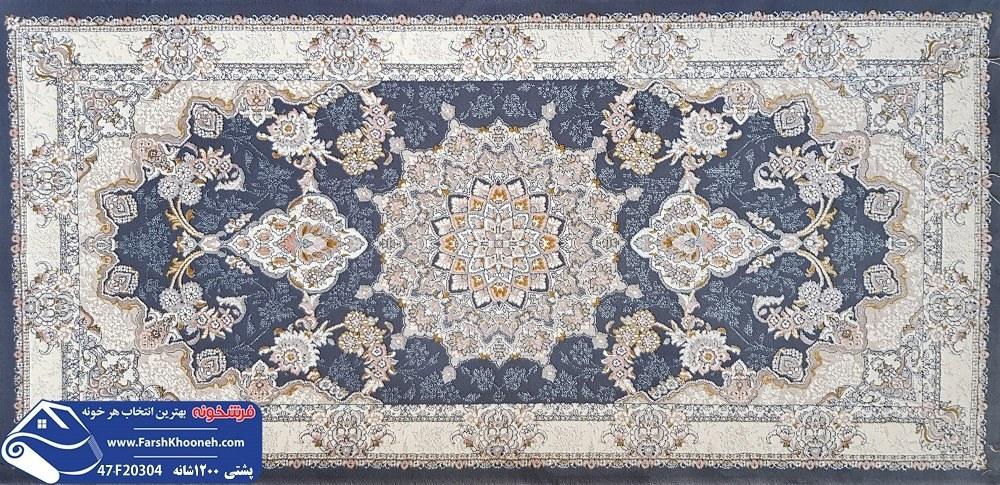 تصویر پشتی سنتی ایرانی طرح دستبافت
