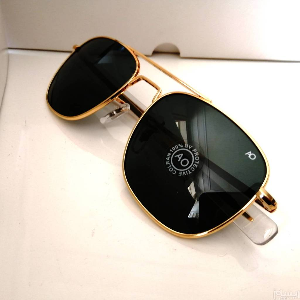 عکس عینک آفتابی emerican optical USA خلبانی  عینک-افتابی-emerican-optical-usa-خلبانی
