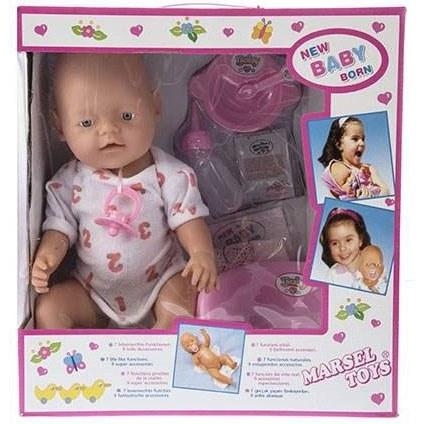عروسک بیبی بورن مارسل تویز مدل New Baby Born |