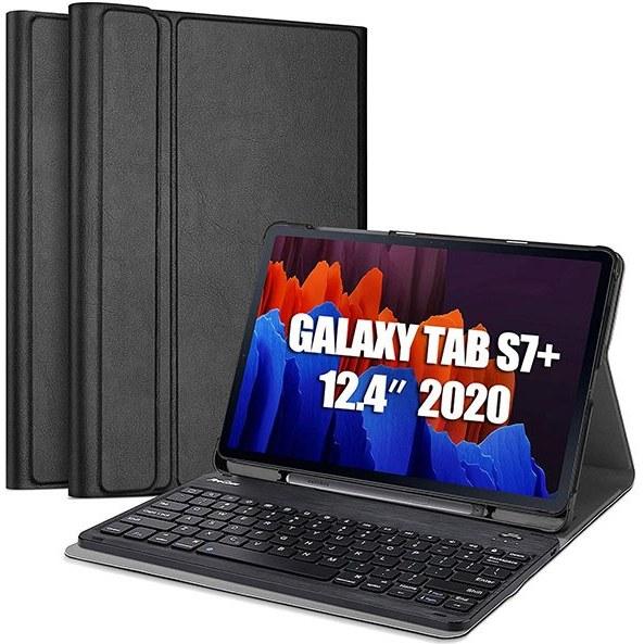 تصویر کیف کیبورد دار تبلت سامسونگ Galaxy Tab S7 Plus ساخت شرکت ProCase