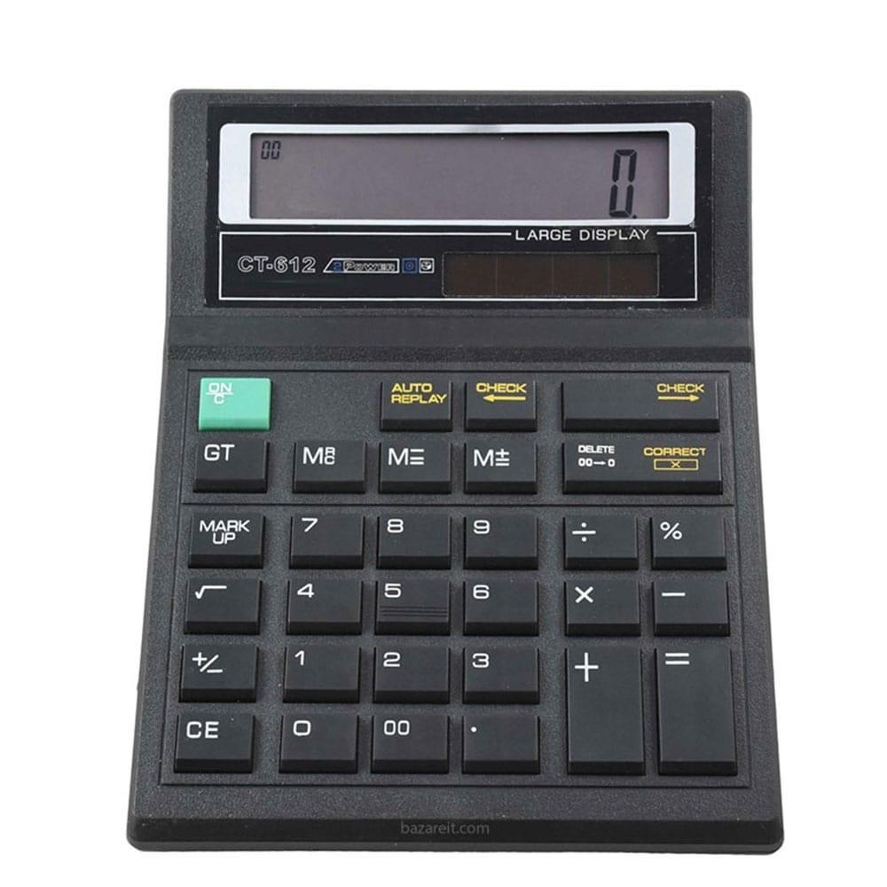 تصویر ماشین حساب مدل CT-612