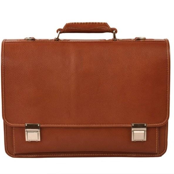 کیف اداری چرم طبیعی مردانه پارینه مدل L81