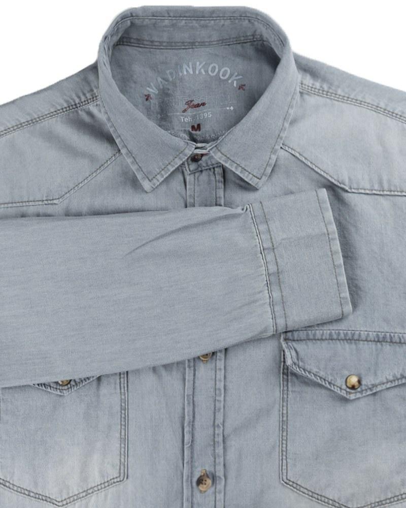 تصویر پیراهن جین مردانه VKJ348