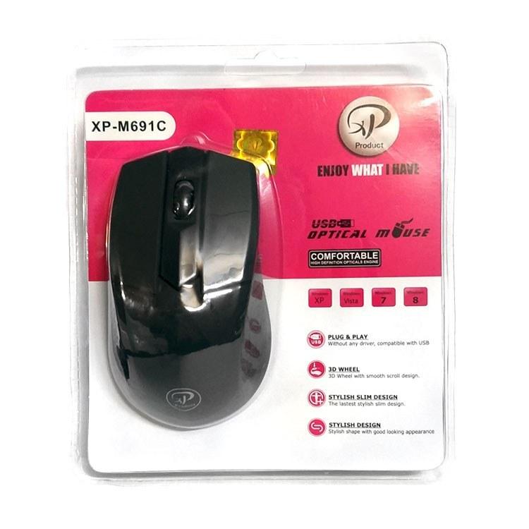 تصویر ماوس ایکس پی مدل XP-M691C XP-M691 Wired Mouse