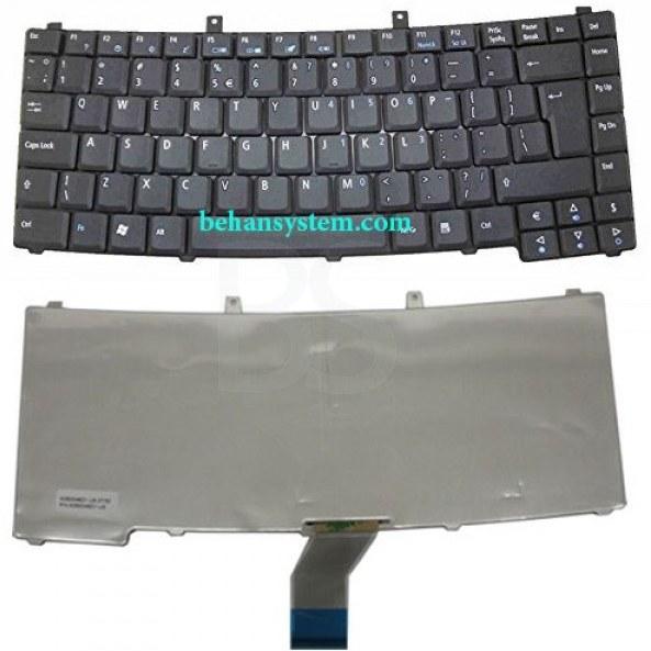 به همراه لیبل کیبورد فارسی جدا گانه | کیبورد لپ تاپ Acer مدل Travelmate 4400