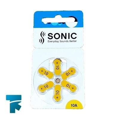 تصویر باتری سمعک شماره 10 SONIC