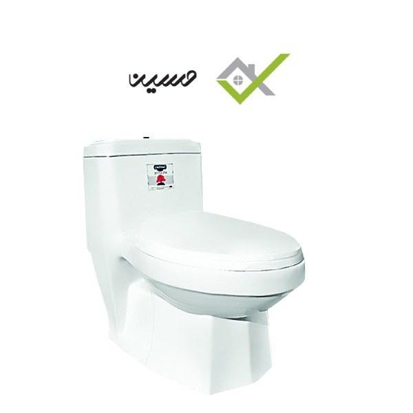 توالت فرنگی مدل آتن سفید