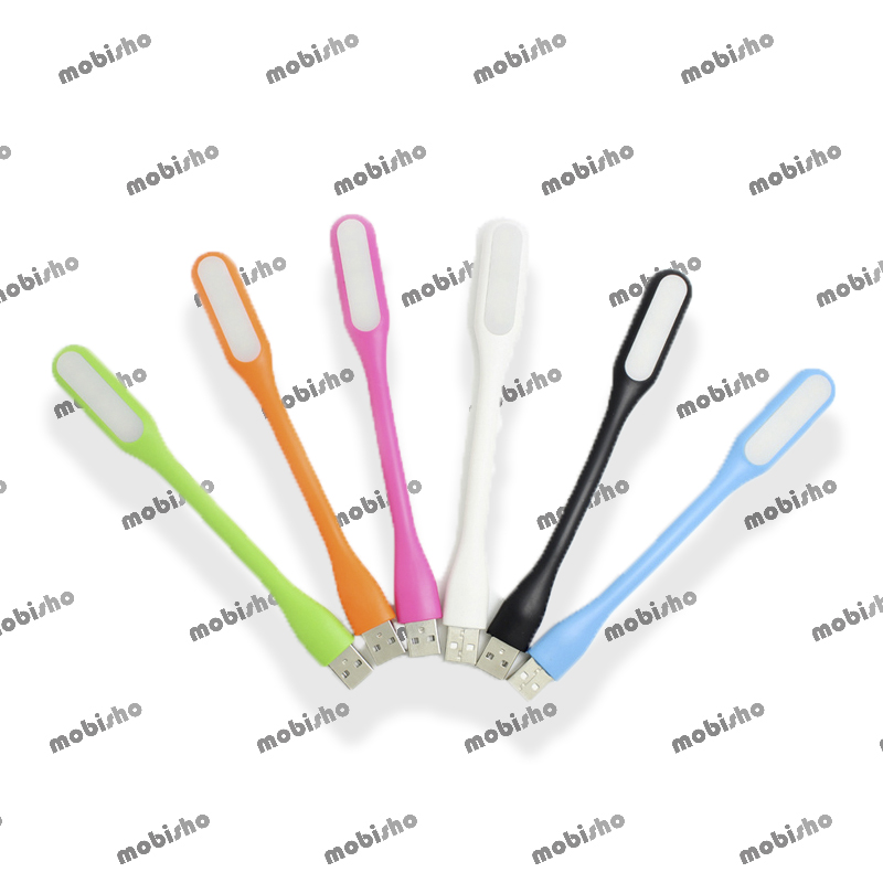 تصویر چراغ LED یو اس بی همراه Flexible USB LED Light Lamp