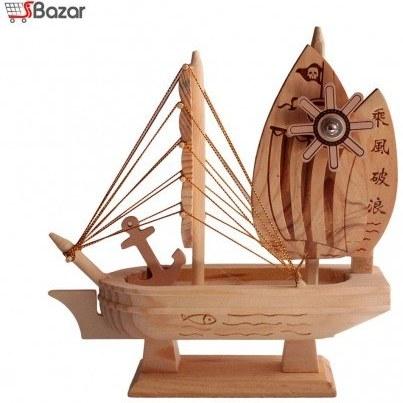 کشتی چوبی دکوری موزیکال |
