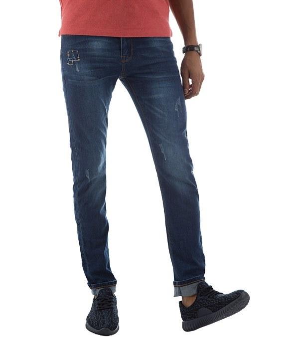 شلوار جین مردانه زاپ دار جین وست Jeanswest