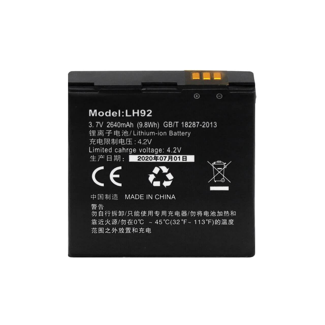 تصویر باتری مودم همراه ایرانسل irancell 4G modem LH92  (اورجینال) +کابل فست شارژ مودم *هدیه* (اورجینال)فروش ویژه+گارانتی ۶۰ روزه مودم باما- تولید 2020 -