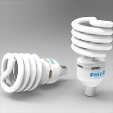 لامپ کم مصرف طراحی شده در سالیدورک