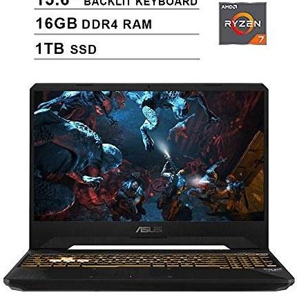 لپ تاپ گیمینگ NexiGo TUF FX505DU 15.6 Inch FHD 1080P | AMD Ryzen 7 R7-3750H تا 4.0GHz | NVIDIA GTX 1660 Ti 6GB | رم 16 گیگابایتی DDR4 | 1TB SSD | نور پس زمینه KB | فای | بلوتوث | ویندوز 10