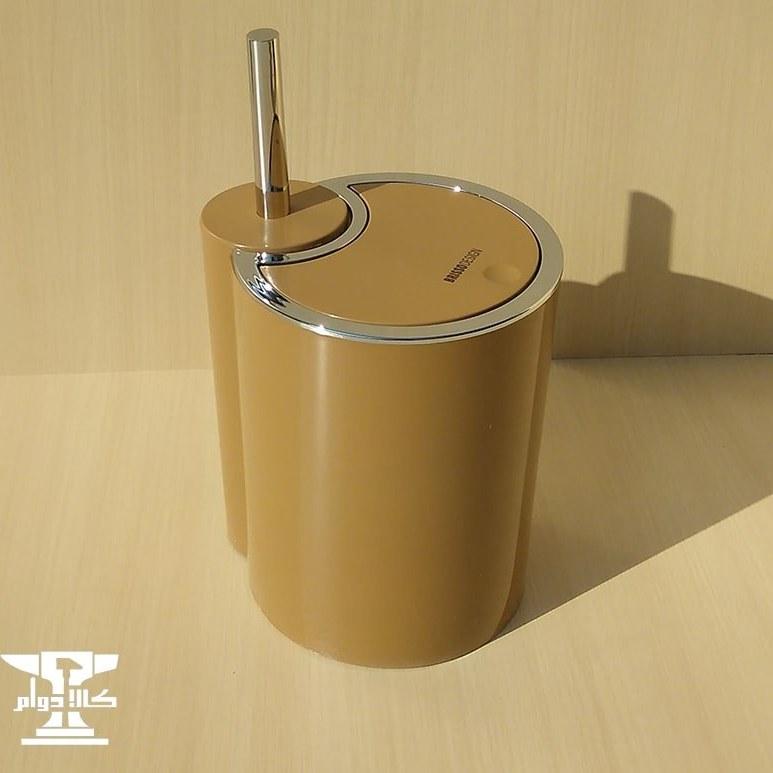 تصویر سطل و برس دستشویی مدل برزیل | برند بریسو دیزاین