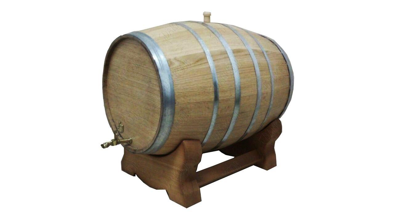 بشکه چوبی 35 لیتری چوب بلوط آمریکایی