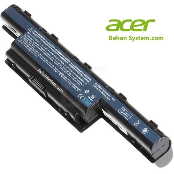 تصویر باتری 9 سلولی لپ تاپ Acer مدل AS10D73