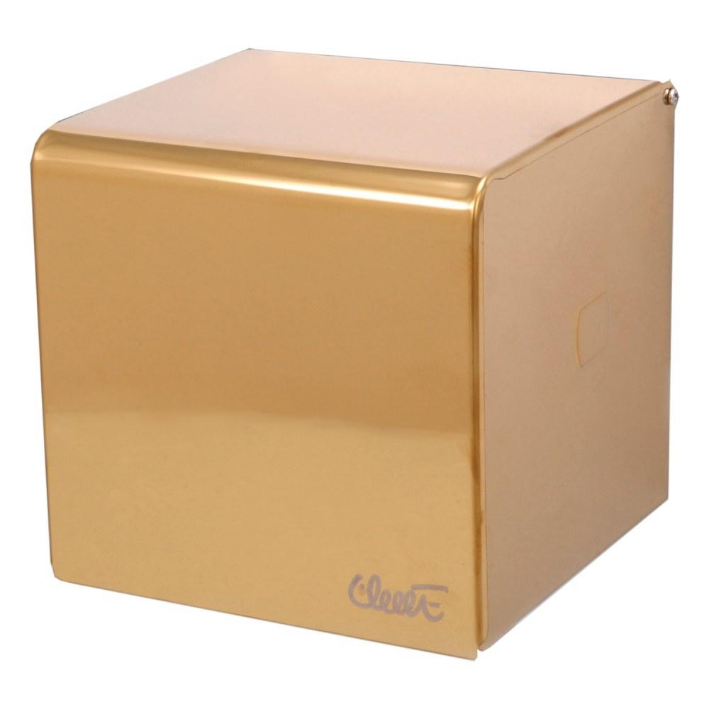 تصویر جای دستمال رول توالت استیل AK11 طلایی