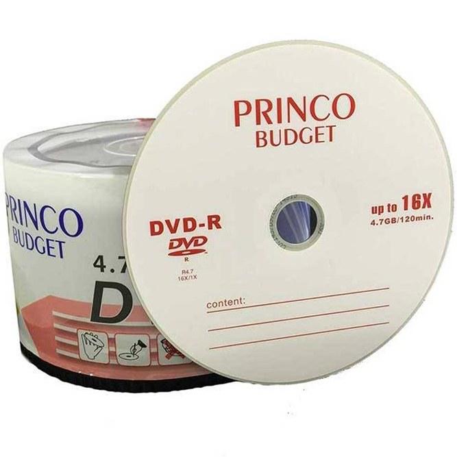 دی وی دی خام پرینکو بسته 50 عددی |