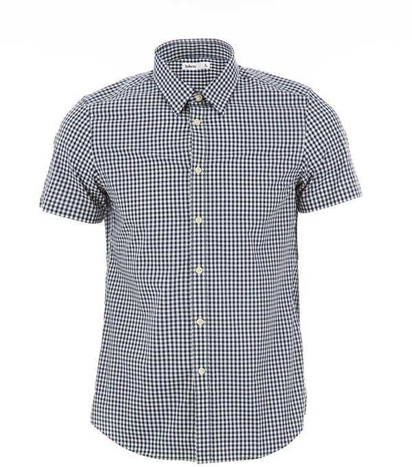 پیراهن مردانه آستین کوتاه نخی بالنو Baleno