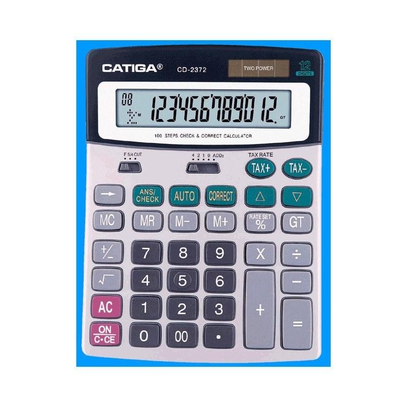 تصویر ماشین حساب  CD-2372 کاتیگا Catiga CD-2372 Calculator