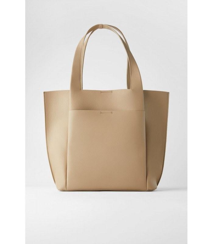 کیف زنانه زارا مدل MINIMAL TOTE BAG