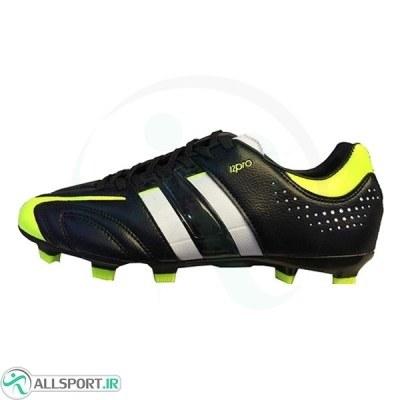 کفش فوتبال طرح آدیداس مشکی زرد Adidas