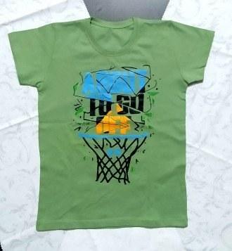 تصویر تیشرت پسرانه طرح بسکتبال کد 2204228