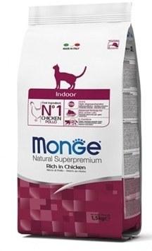 غذای خشک Monge مخصوص گربه های داخل خانه بالغ تهیه شده از گوشت مرغ - 1.5 کیلوگرم |