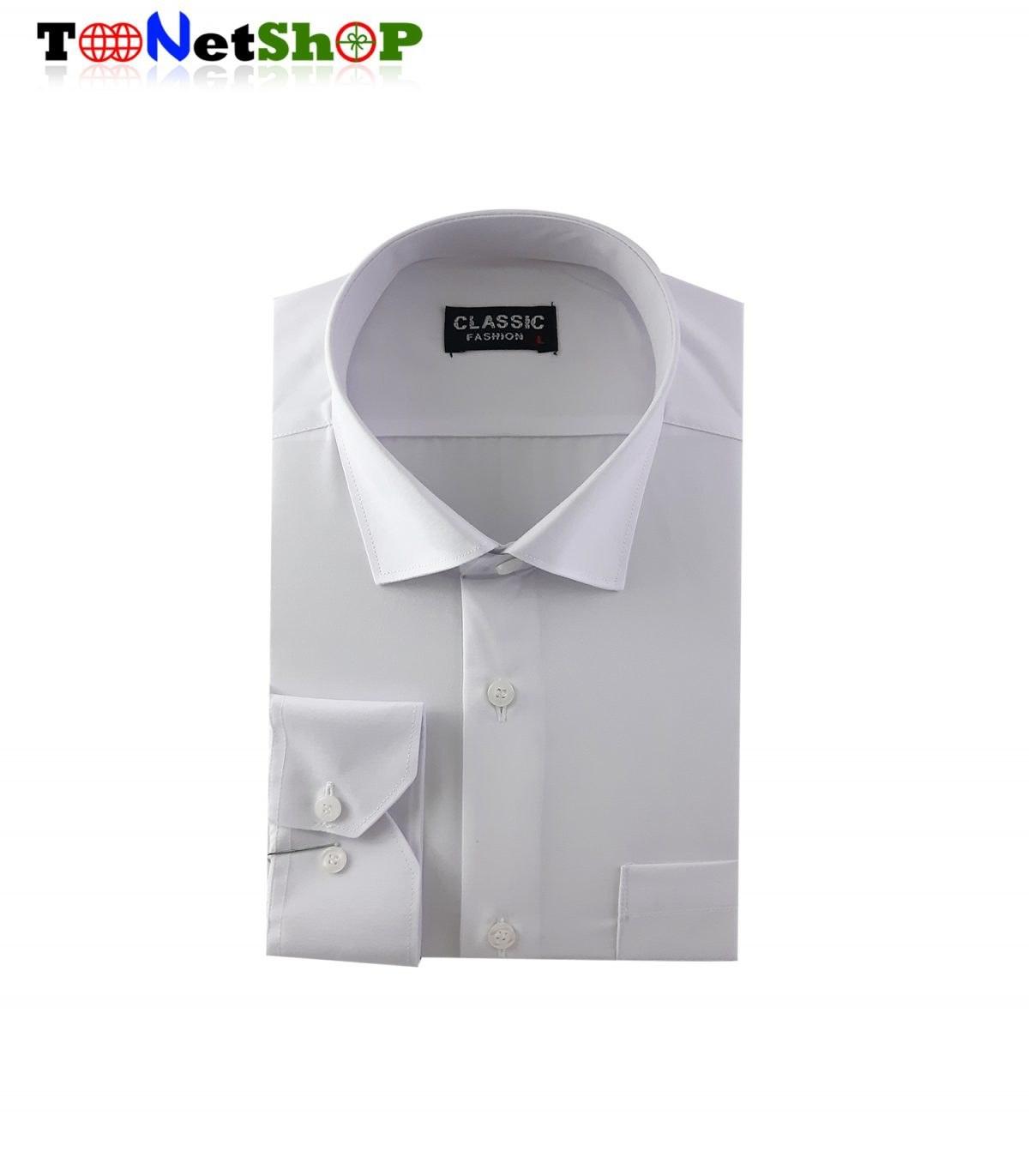 پیراهن مردانه سفید کد 2020