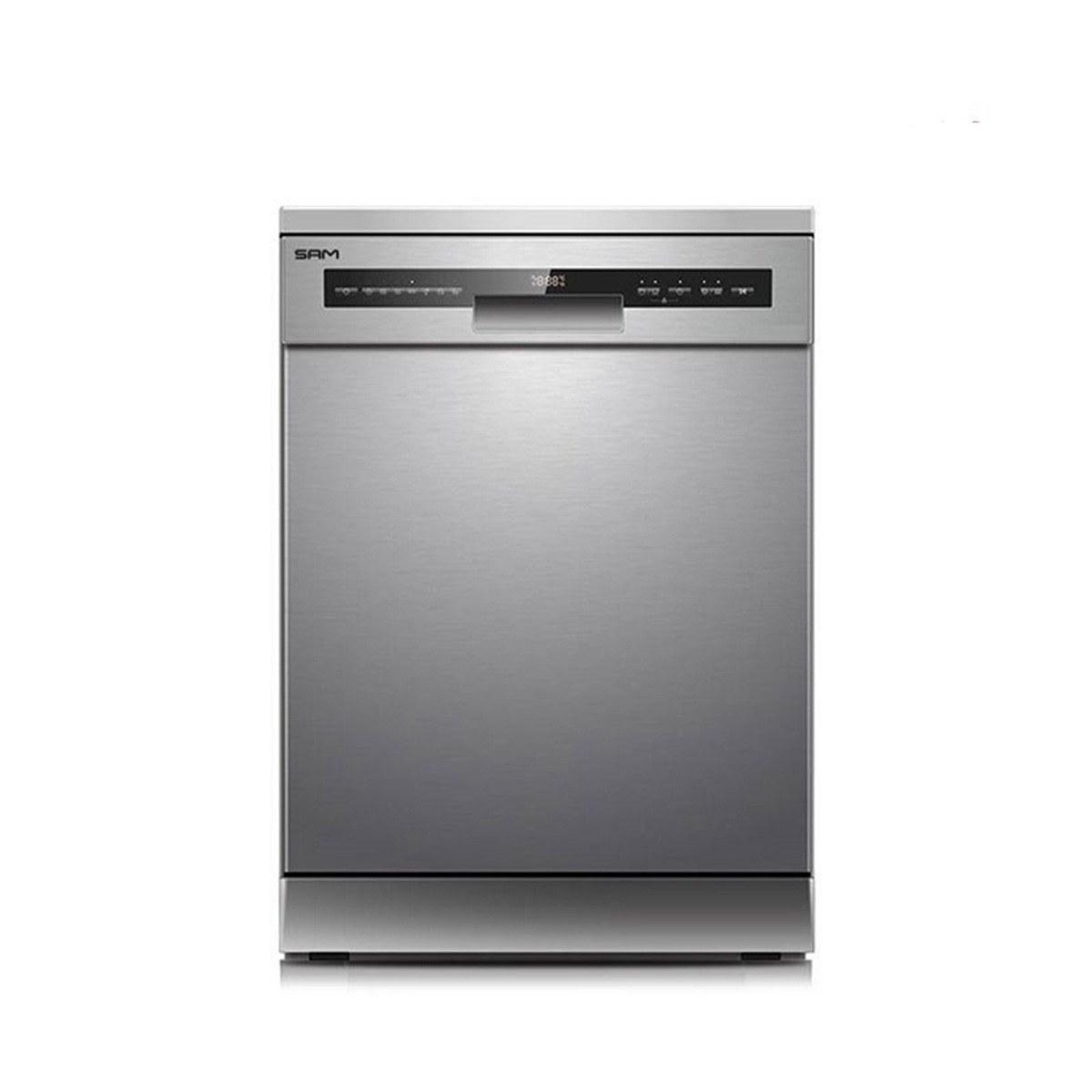 تصویر ماشین ظرفشویی ایستاده سام مدل Sam DW-180 Standing dishwasher Sam Model Sam DW-180