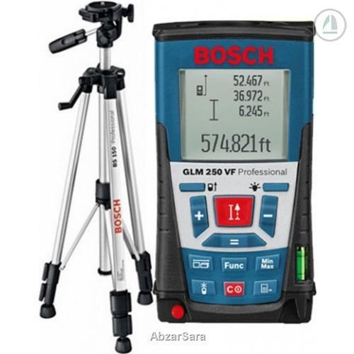 تصویر متر لیزری 250متری بوش مدل GLM 250 VF Bosch GLM 250 VF Laser Measure