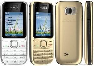 تصویر قاب اصلی نوکیا اصلی Nokia C2-01