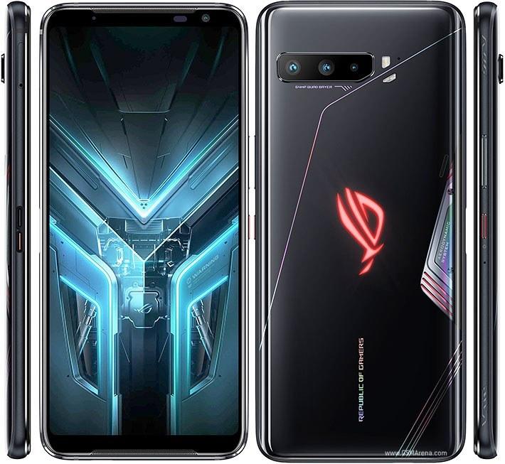 تصویر ایسوس راگ فون 3 با 12 گیگابایت حافظه رم - 5 جی - 256 گیگابایت - دو سیم کارت Asus ROG Phone 3 with 12GB RAM - 5G - 256GB - Dual SIM - ZS661KS