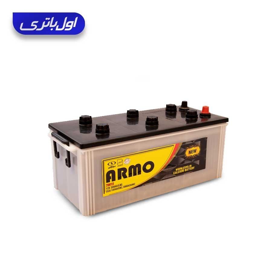 تصویر باتری 200 آمپر نیو آرمو صبا باتری