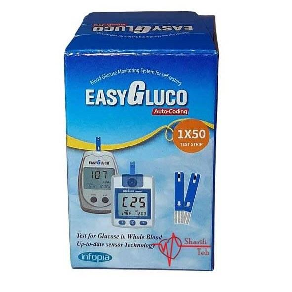 تصویر دستگاه تست قند خون ایزی گلوکو EasyGluco- Blood Glucose Monitoring System