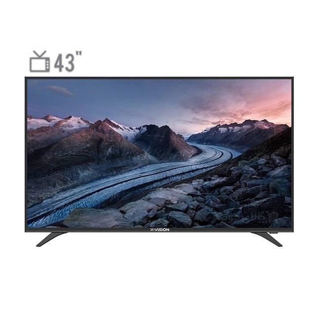 تلویزیون 43 اینچ ایکس ویژن مدل XT520