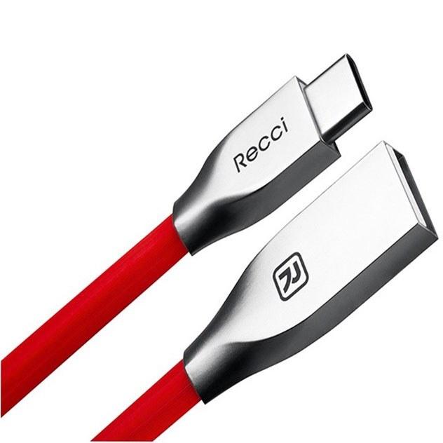 کابل شارژ فست تایپ سی RECCI مدل RCT-B100 |