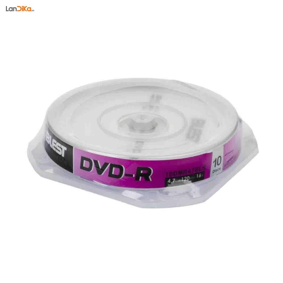 دی وی دی خام بلست مدل DVD-R بسته 10 عددی | Blest DVD-R - Pack of 10