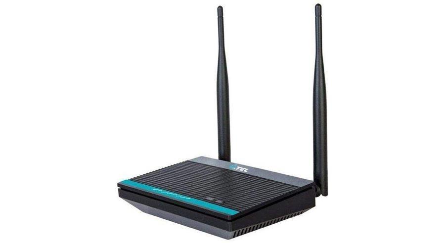 تصویر مودم +ADSL2 بیسیم یوتل U-TEL A304U/A304 UTEL A304U/A304 Wireless N300Mbps ADSL2+ 4 Port Modem Router