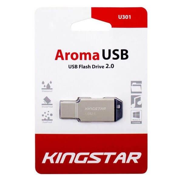 main images فلش مموری کینگ استار مدل KS201 Aroma ظرفیت 32 گیگابایت Kingstar KS201 Aroma 32GB USB 2.0 Flash Memory