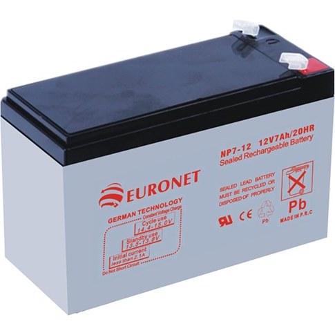 تصویر باتری ۱۲ ولت ۷ آمپر یورونت