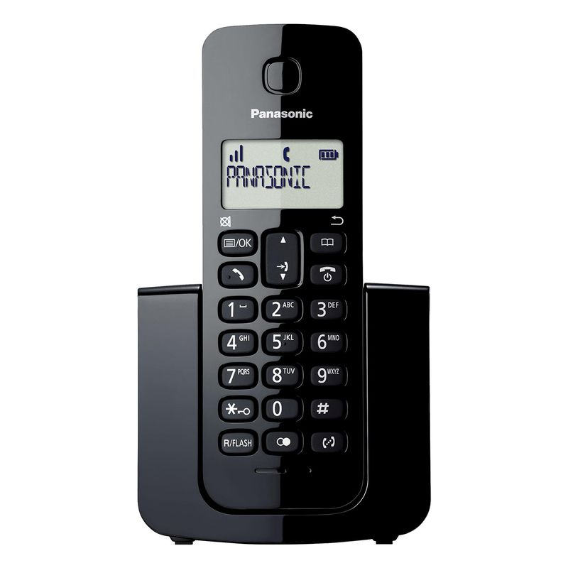 main images تلفن بیسیم پاناسونیک مدل KX-TGB110 |مشکی Panasonic KX-TGB110 Wireless Phone