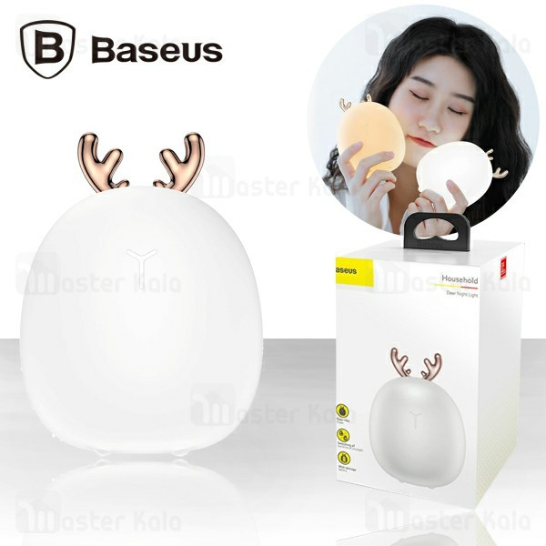 چراغ خواب بیسوس Baseus Deer Night Light ACYLU-02 طرح گوزن