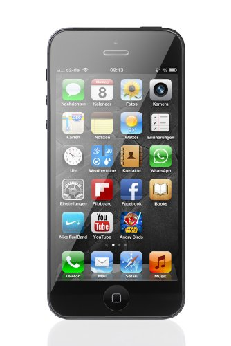تصویر گوشی اپل آیفون 5   ظرفیت 16 گیگابایت Apple iPhone 5   16GB