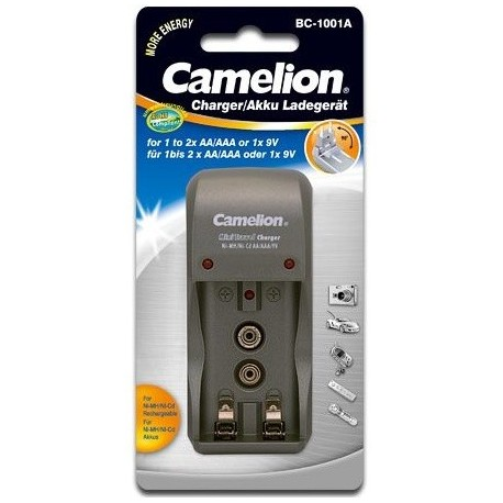 main images Camelion Mini Travel Charger BC-1001A