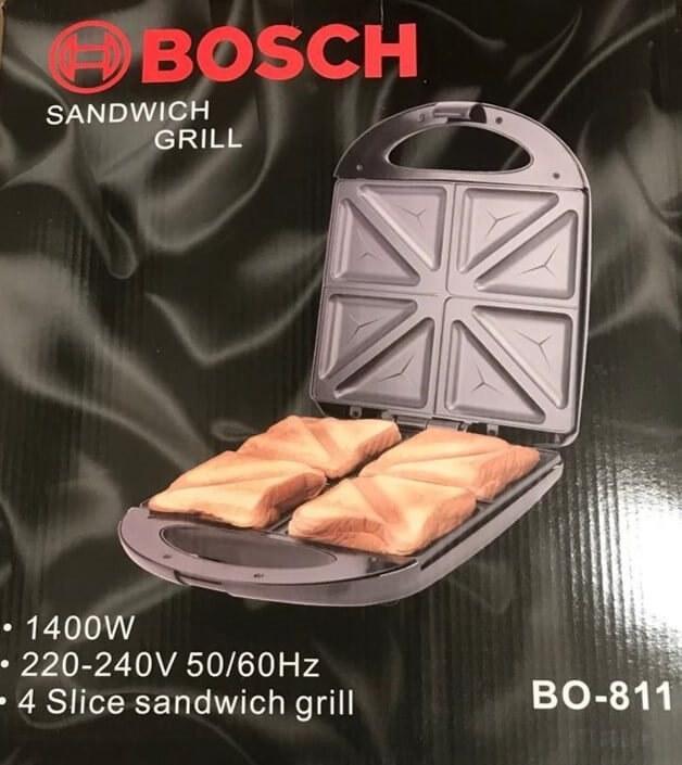 تصویر ساندویچ ساز بوش مدل BO-811 بازرگانی یوسفی _ (لذت آشپزی را با ما تجربه کنید)
