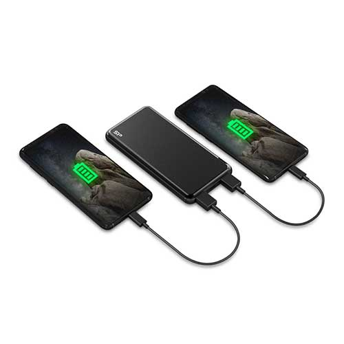 main images پاوربانک سیلیکون پاور مدل GP27 ظرفیت 10000میلی آمپر ساعت SILICON POWER GP27 10000mAh Power Bank