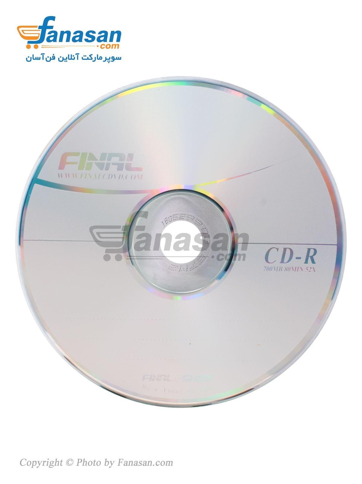 سی دی فاینال | Final CD-R