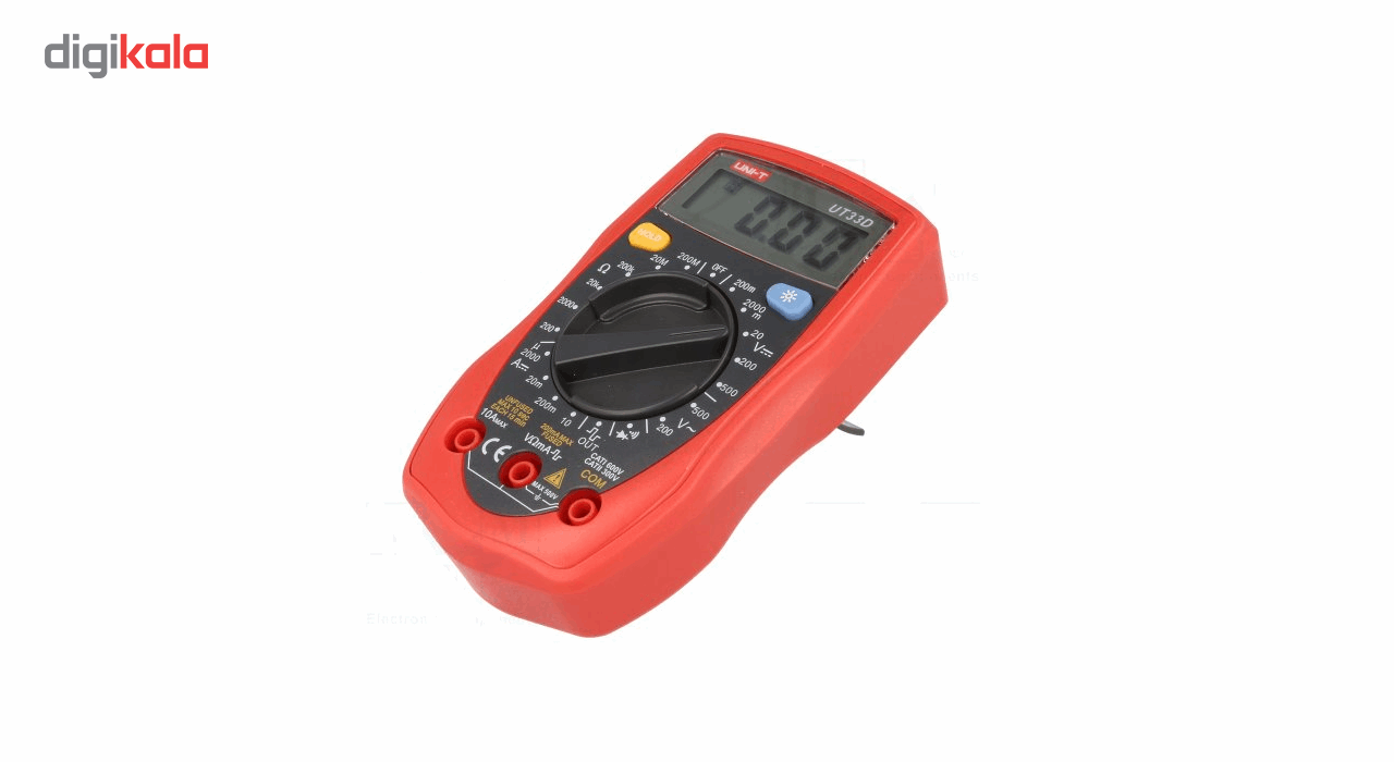 img مولتی متر خوب و ارزان قیمت UNI-T UT33D Plus Palm Size Multimeter UT33D Plus UNI-T