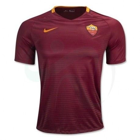 پیراهن اول آ اس رم As Roma 2016-17 Home Soccer Jersey